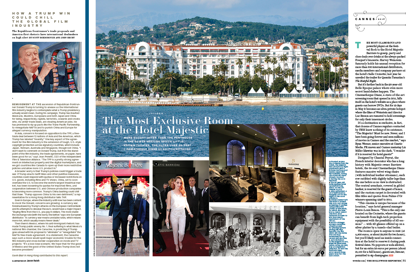Cannes 2016 / The Hollywood Reporter / 5.18.16 / kelsey stefanson / art direction + graphic design / yeskelsey.com