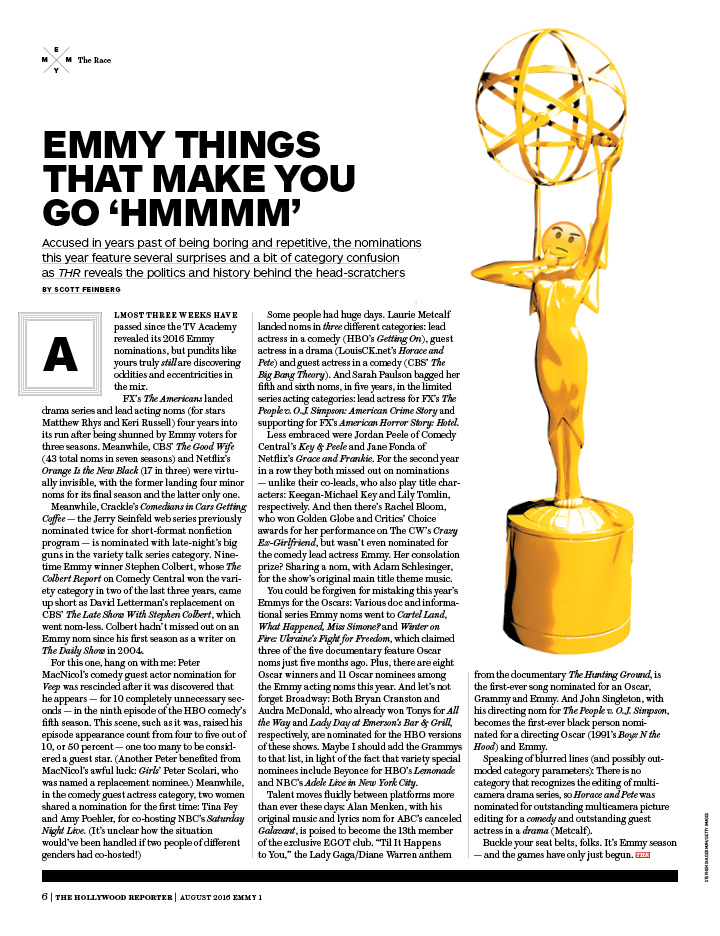 Emmy Things That Make You Go 'Hmmmm' / kelsey stefanson / art direction + graphic design / yeskelsey.com