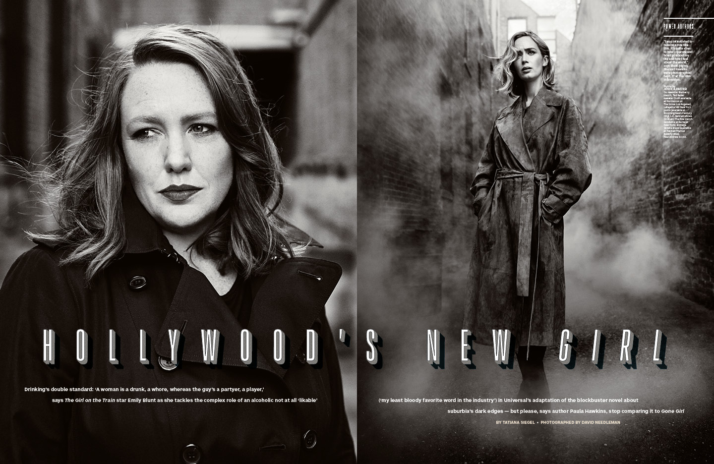 Hollywood's New Girl / The Hollywood Reporter / 10.14.16 / kelsey stefanson / art direction + graphic design / yeskelsey.com