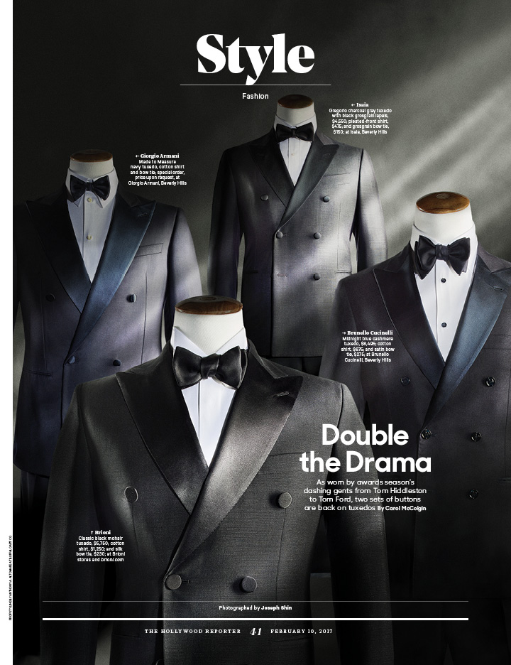 Double the Drama / The Hollywood Reporter / 2.10.17 / kelsey stefanson / art direction + graphic design / yeskelsey.com