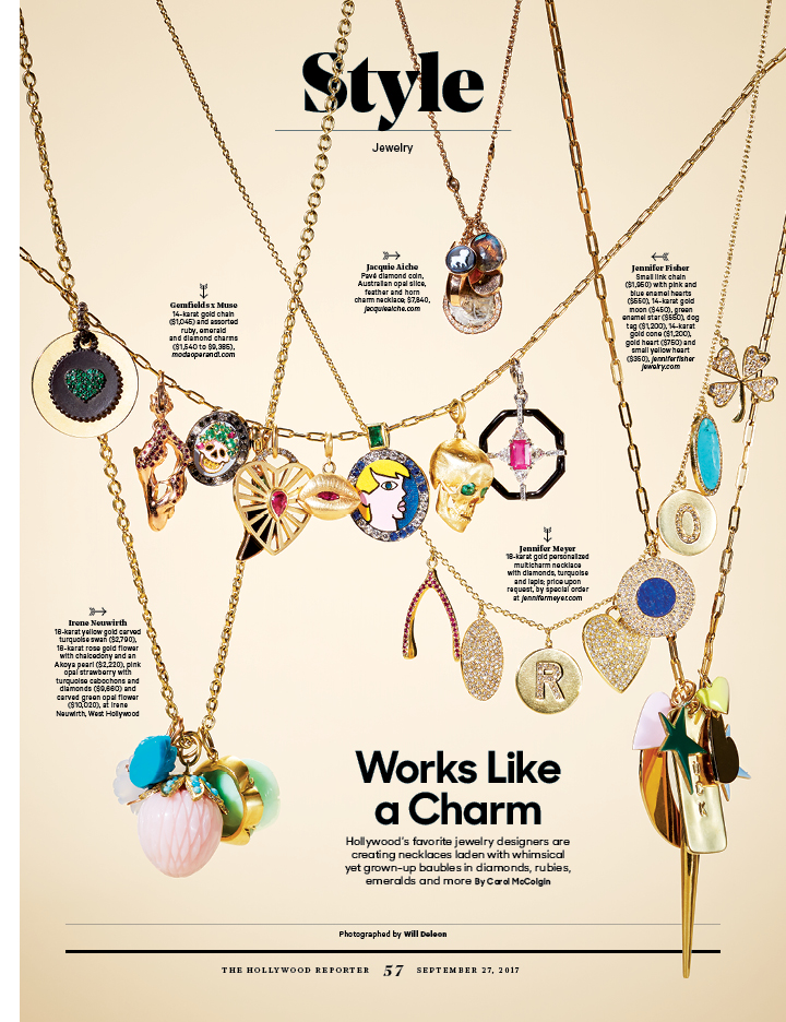 Works Like a Charm / The Hollywood Reporter / 9.27.17 / kelsey stefanson / art direction + graphic design / yeskelsey.com