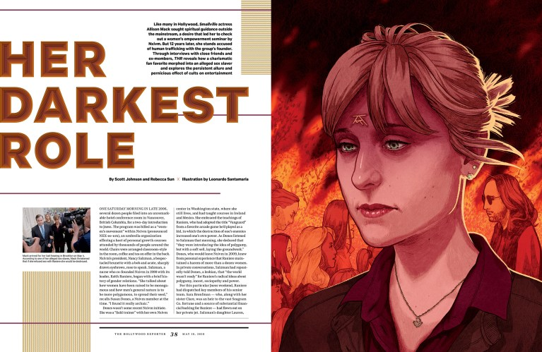Her Darkest Role / The Hollywood Reporter / 5.16.18 / kelsey stefanson / art direction + graphic design / yeskelsey.com