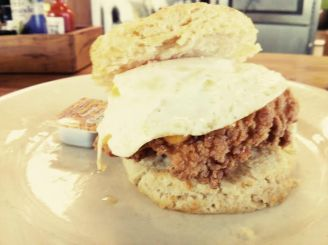oh, hello, chicken biscuit.