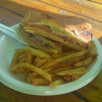 Cuban Sandwich Paradise Grill