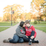 A Columbus, Ohio Engagement Session | Bre + Ryan
