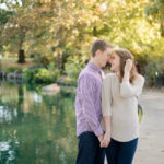 Goodale Park Engagement Session | Ashleigh + Ryan