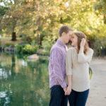 Goodale Park Engagement Session | Ashleigh + Ryan