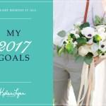 My 2017 Goals