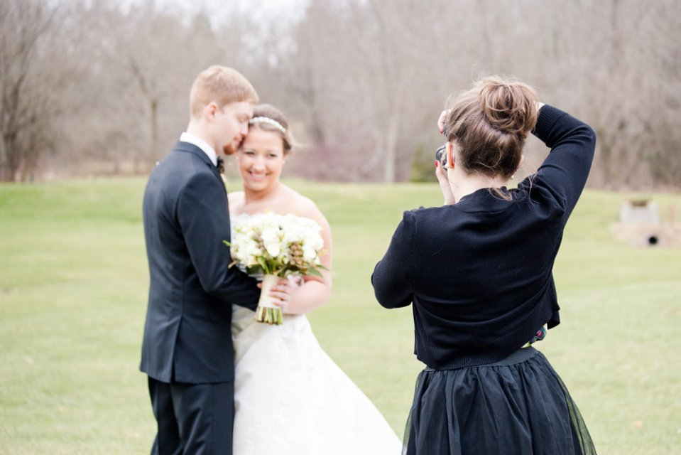 Thanks Nicole Callis for this AWESOME behind the scenes shot at my last wedding!!