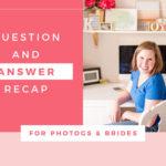 Q&A Recap