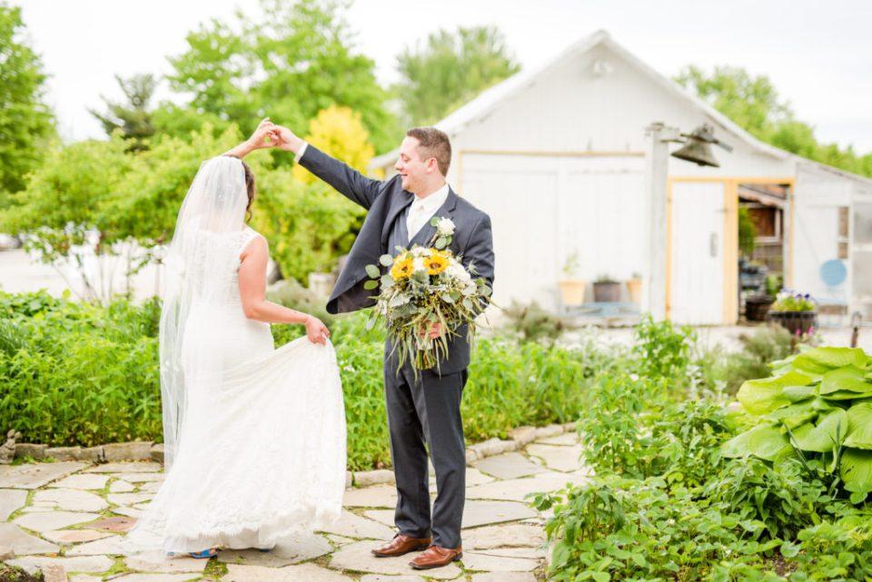 Jorgensen Farms wedding at Historic Barn