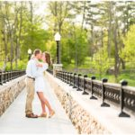 A Miami University Engagement Session in Oxford, Ohio