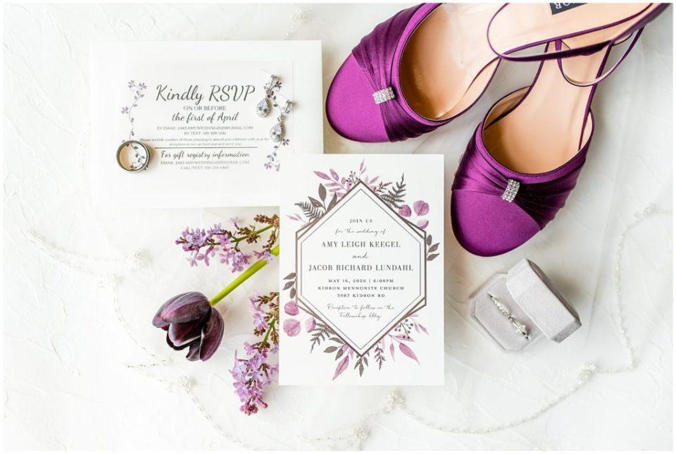 Plum Bridal Details
