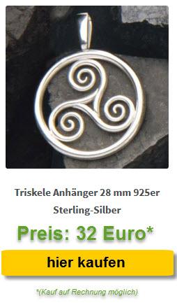 Anhänger Triskele Silber kaufen