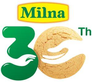 Logo Milna 30Th Rev