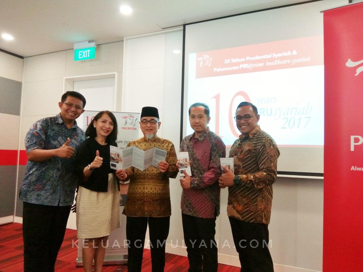 PruPrime Healthcare Syariah untuk semua, persembahan 10 tahun prudential Indonesia
