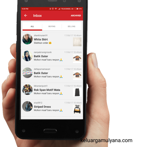 Carousell Chat