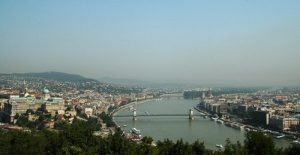 Sungai Donau di Budapest