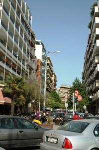 lalu-lintas thessaloniki