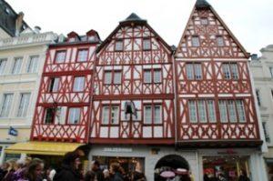 Rumah kuno di Trier, Jerman