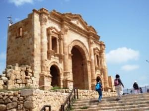 Jerash, kota peninggalan Romawi kuno