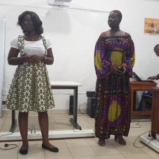 Representantes de l'agence de développement du numérique