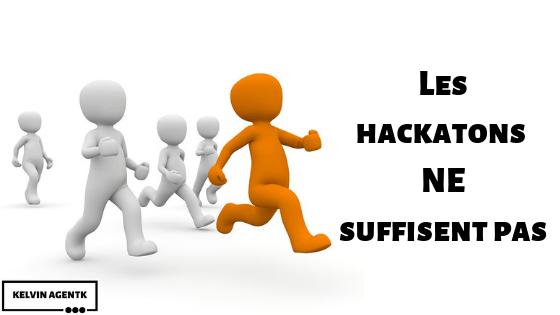 Les hackathons ne sont pas suffisants