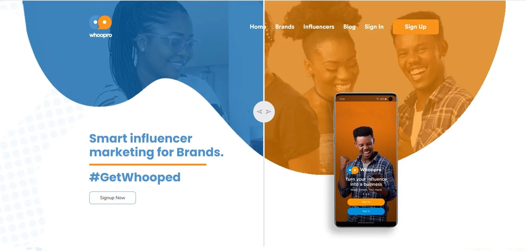 Read more about the article Whoopro – A Self-Service Influencer Marketing Platform, Connecting Brands and Influencers