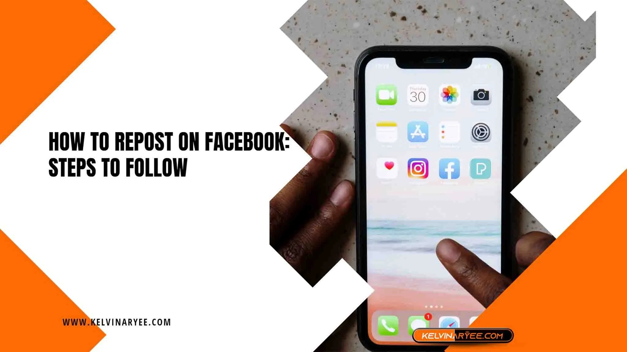 You are currently viewing How To Repost on Facebook: Steps to Follow