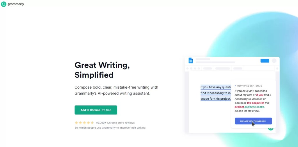 Grammarly review for digital marketers