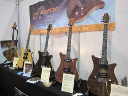 Flame Guitars Custom made in UK