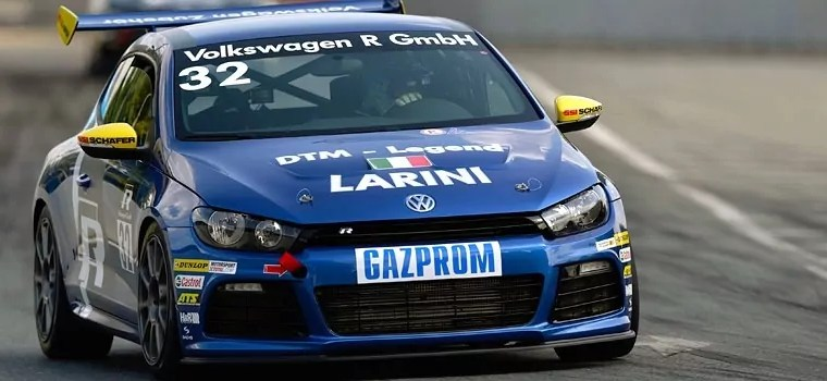 Free practice at the Norisring: Legend Larini clocks fastest time.