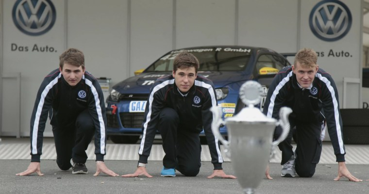 Three drivers, one goal. An interview with the contenders for the 2013 Scirocco R-Cup title.