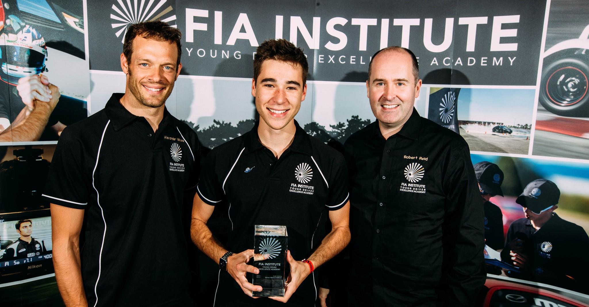 Van der Linde Wins International Elite FIA Academy