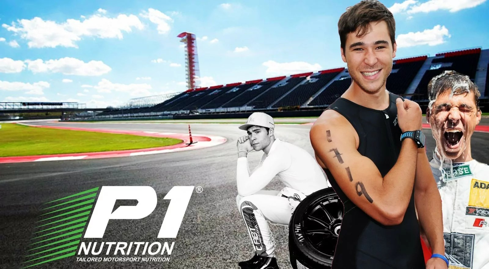 KELVIN VAN DER LINDE  SIGNS AS P1 NUTRITION ATHLETE