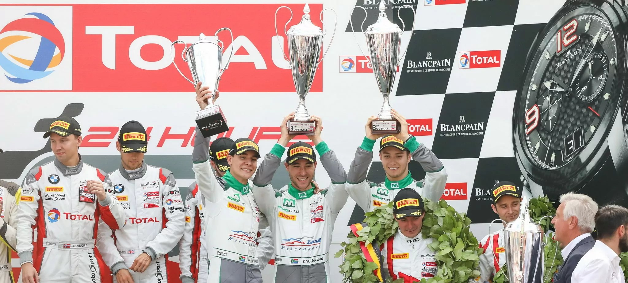 Podium for the VDL Bros in the 24H of Spa!