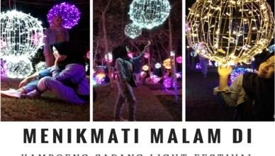 Kampoeng Sadang Light Festival