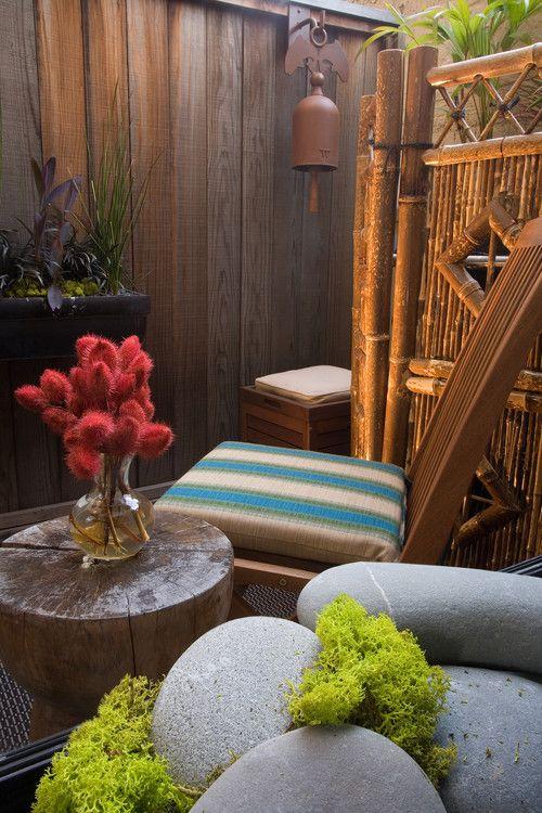 Contoh hiasan bambu untuk rumah 26