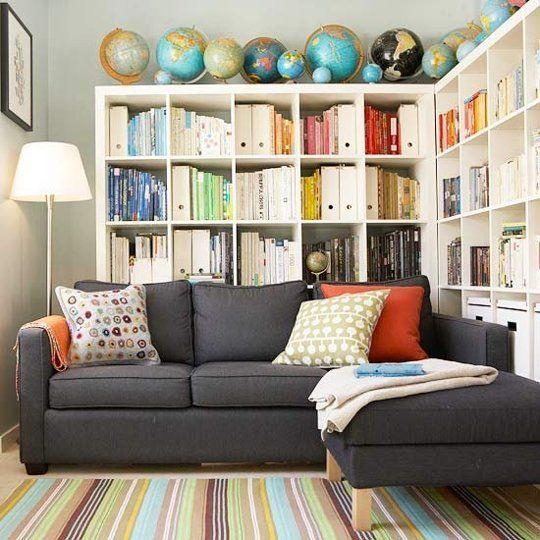 15 Cara Penataan Perpustakaan Kecil di Sudut Rumah