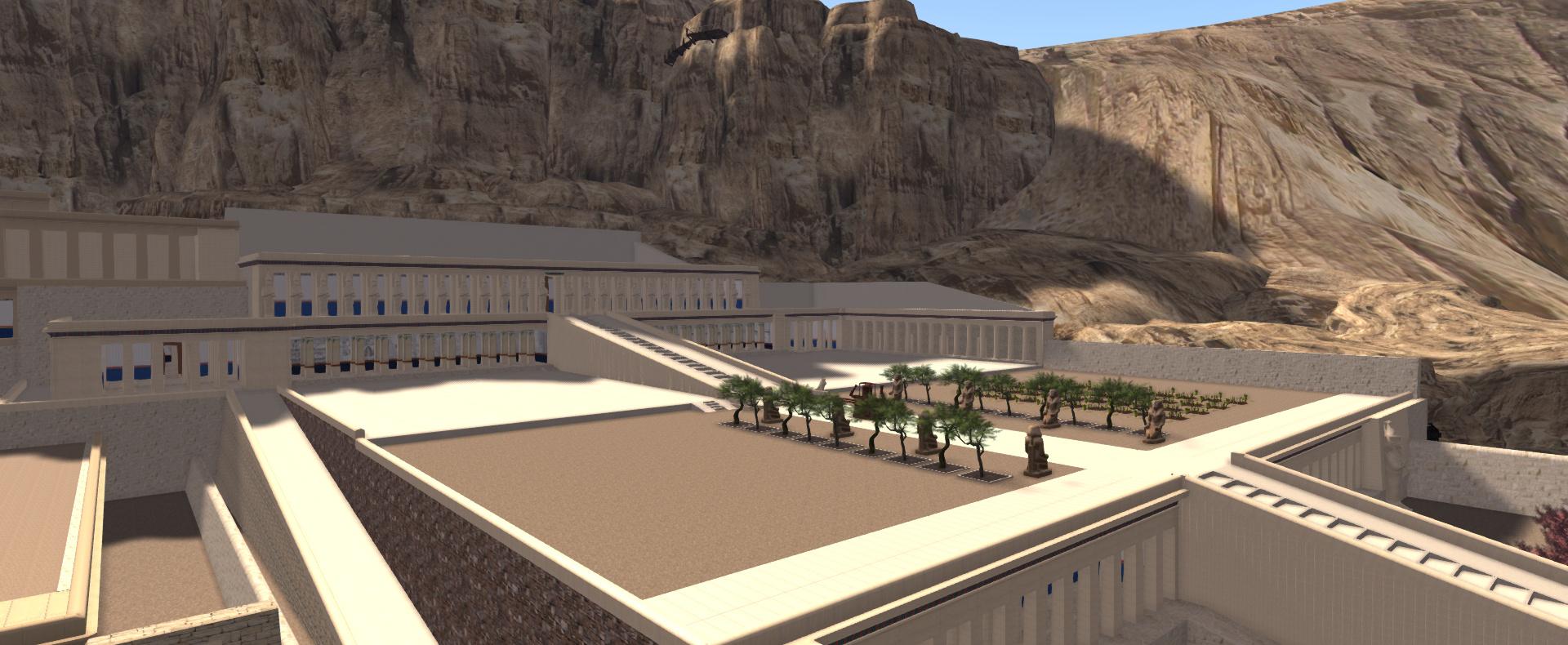 The Mortuary Temple of Hatshepsut