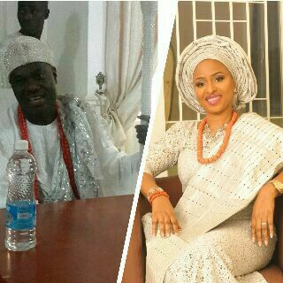 Ooni and former wife, Bukky