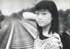 Kemila Zsange, the future hypnotherapist on the Lion Hill, Chengdu, Sichuan, China