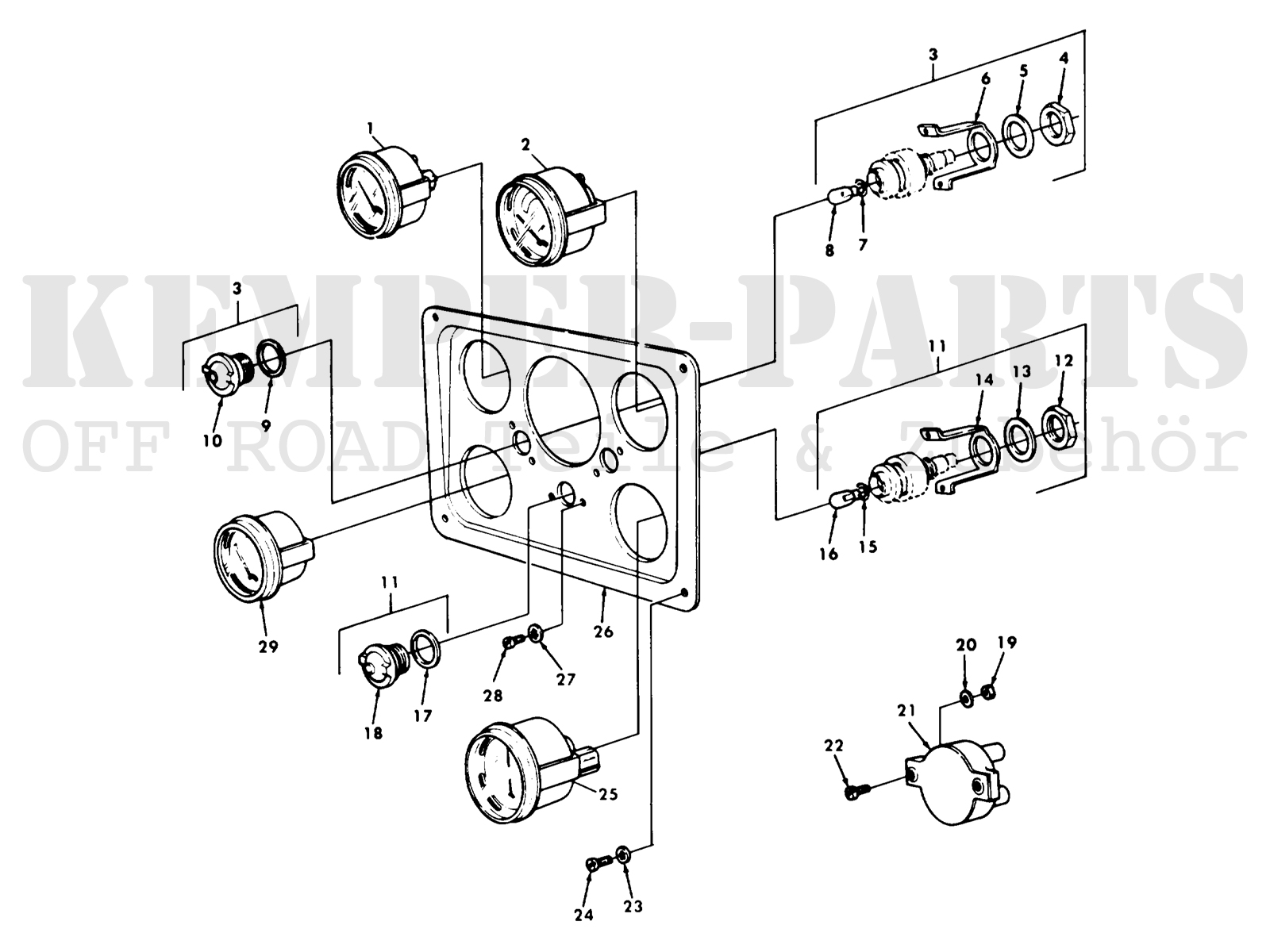 M151 Jeep Parts | Wiring Diagram Database M Wiring Diagram on