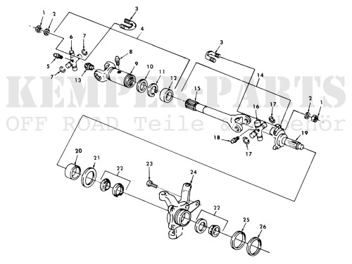 small resolution of preview m151 wheel bearing seal kit