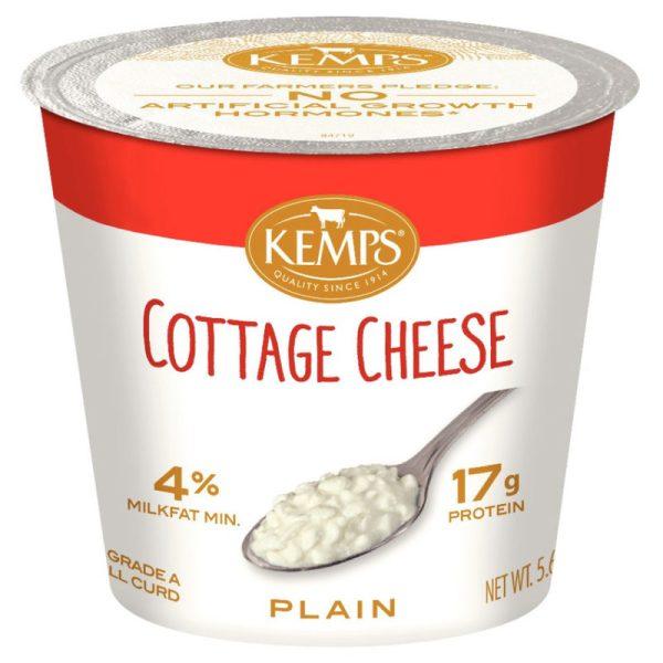 Cottage Cheese Single Serve 4 564 oz Kemps