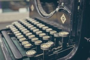 typewriter, Author Solutions