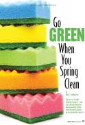 Go Green, Spring Clean, Hudson Valley Magazine, March 2013