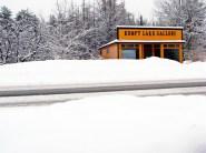 Kempt Lake Gallery in winter dress