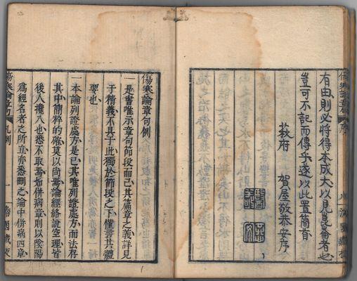16.『傷寒論廣要』 多紀元堅(1795-1857) 文政10年(1827)