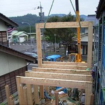 木造 門型 ラーメンフレーム 納品実績 賢 鳥取県 1